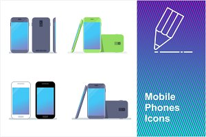 Mobile Phones Icons