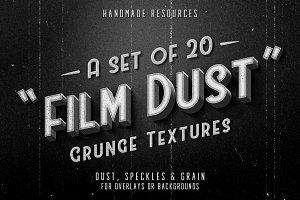 Film Dust grunge textures