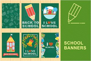 School banners set