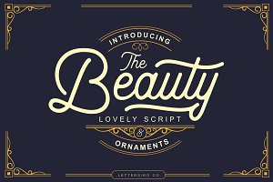 The Beauty Script & Ornaments