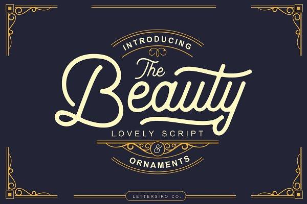 The Beauty Script & Ornaments
