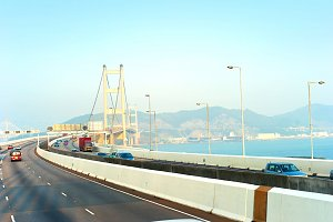 Tsing Ma bridge,Hong Kong