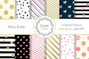 Modern Chic digital paper