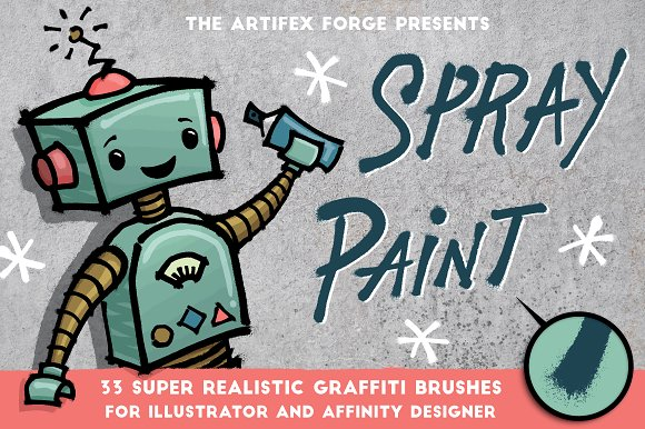 A Collection of Stunning Affinity Designer Brushes ~ Creative Market