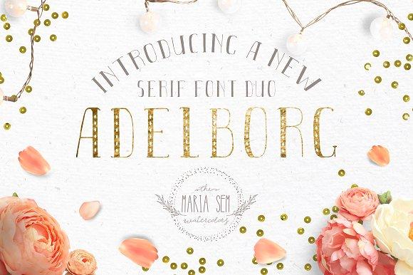 Adelborg Font Duo