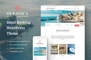 Oceanica - Hotel Booking Theme