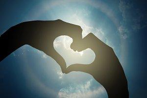 Valentine love concept