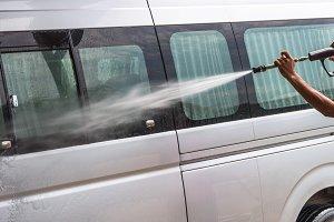 Van Car wash