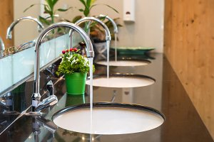 Luxury Chrome faucet