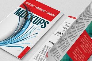 Magazine / Catalogs Mockups