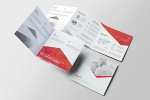 Corporate Square Trifold Brochure