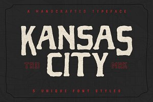 Kansas City - Font Family