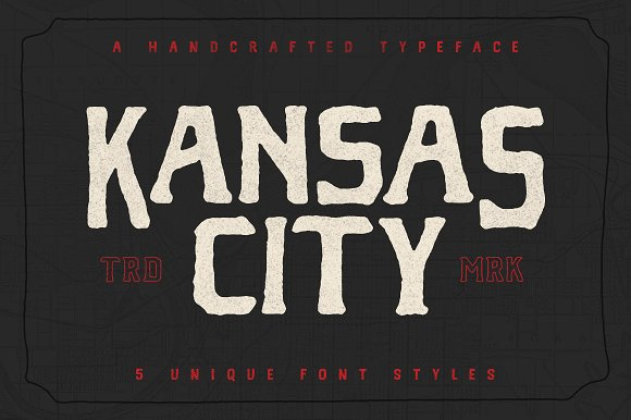 Kansas City Font Family