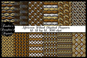 African Tribal Digital Papers