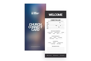 Visitors Connection Card