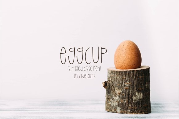 Eggcup A Mixed Case