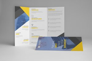 wee Corporate  trifold brochure