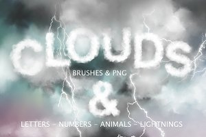 Clouds Graphics & PS Brushes