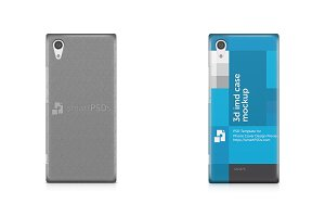 Sony Xperia XA1 3d IMD Mobile Case
