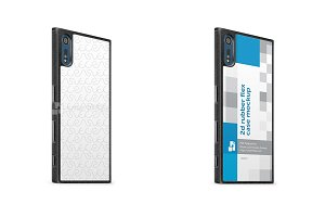 SonyXperia XZ Premium 2d Rubber Case