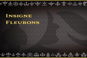 insigne Fleurons