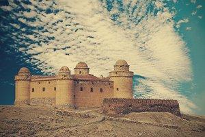 Calahorra Castle, scene of movie