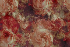 Roses seamless pattern | JPEG
