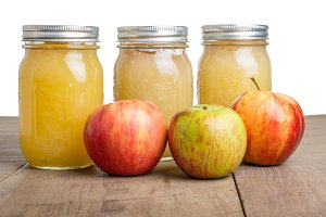 Apples and apple sauce