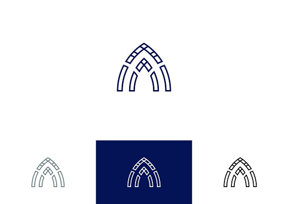 Abstract Line Logo