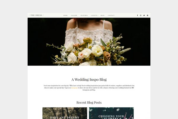WordPress Wedding Themes: PIXEL BOUTIQUE - CLOSING DOWN SALE | WordPress Theme