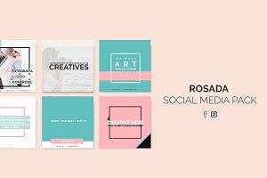 ROSADA SOCIAL MEDIA PACK