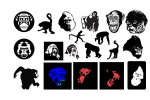 Primates Vector Pack