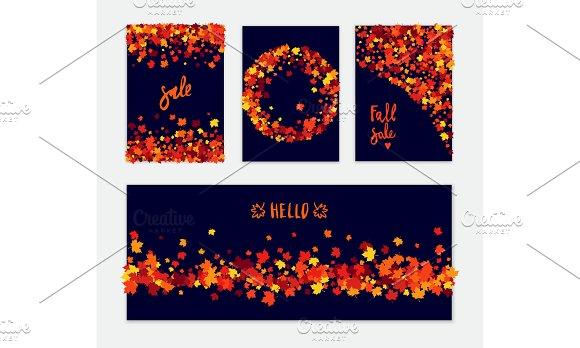 Autumn Vector Banner Set
