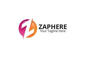 Zaphere Z-letter Logo design