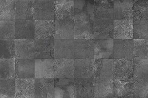 Slate mosaic tile seamless texture
