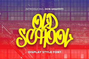 Don Graffiti - Display Font