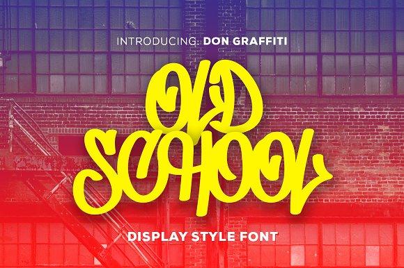 Don Graffiti - Display Font