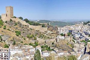 panoramic view of Cazorla, Jaén