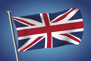 United kingdom flag Union Jack