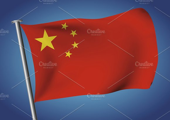 People's Republic Of China Flag