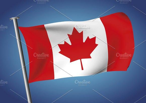 Flag Of Canada Canadian Flag