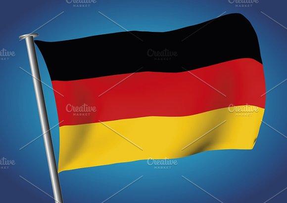 German Flag Flag Of Germany