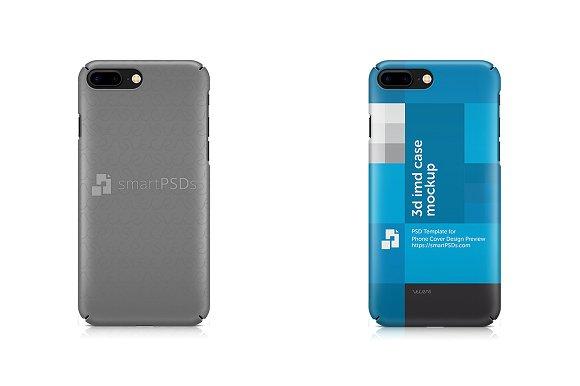 IPhone 7 Plus Full Cover 3D IMD