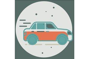 Car Icon.