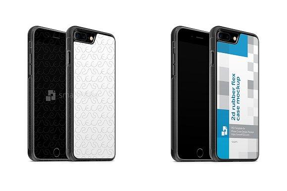 Apple IPhone 7 Plus 2d Rubber Flex