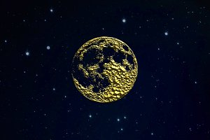 Golden Moon Logo