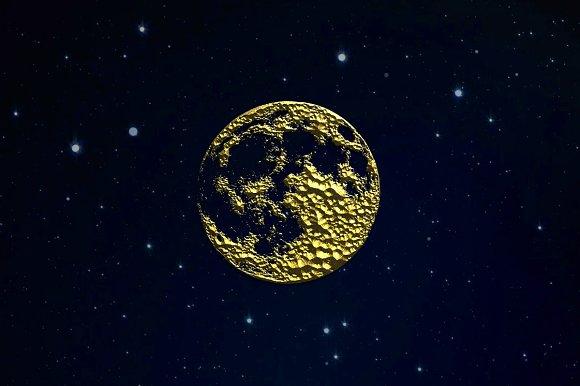 Golden Moon Logo