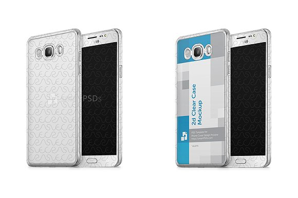 Galaxy J7 2d Clear Case