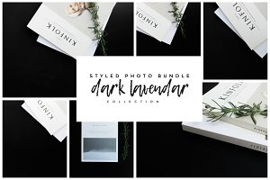 DARK LAVENDER | Styled Stock Photos