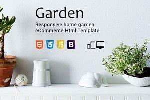 Garden - eCommerce Html Template